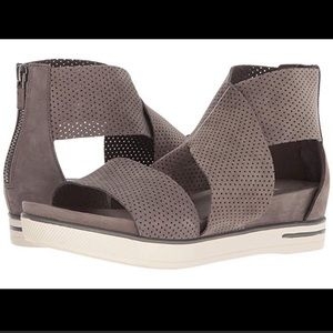 Eileen Fisher | Sport 3 Perforated Wedge Sandal
